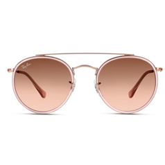Lunettes de soleil RAY-BAN - Double Bridge - Rose  - Optic 2000