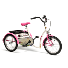 Tricycle - à partir de 8 ans - 50 à 64 cm - Happy - Santé Hémain